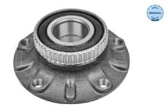Wheel hub with bearing kit